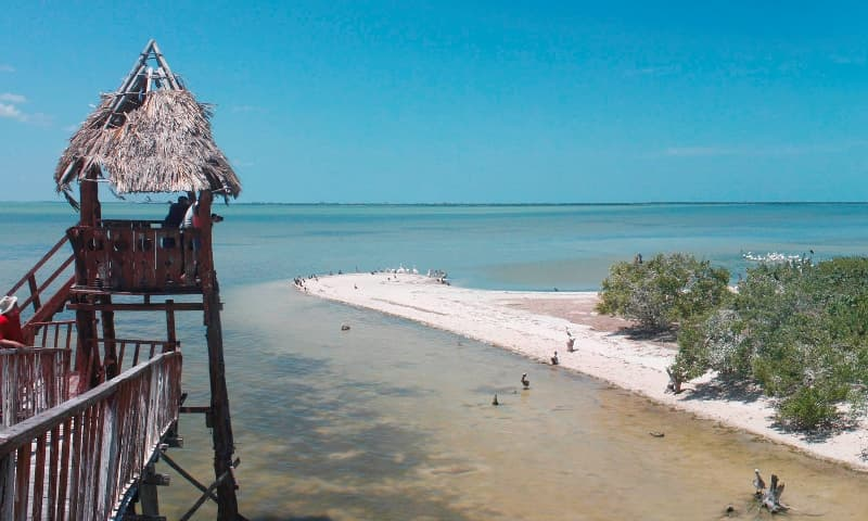 Isla Pájaros, Holbox Attractions
